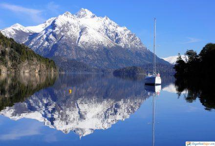 camino de los 7 lagos en argentina