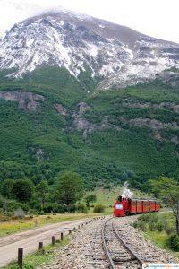 tren hacia ushuaia